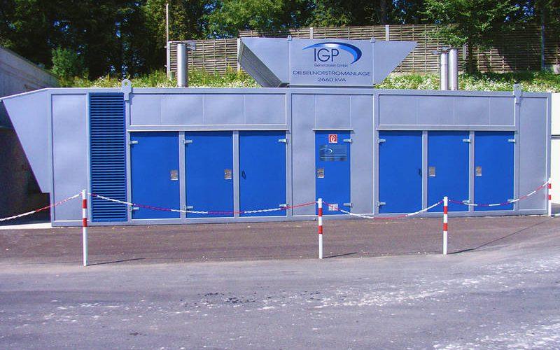 IGP Generatoren GmbH Referenzen