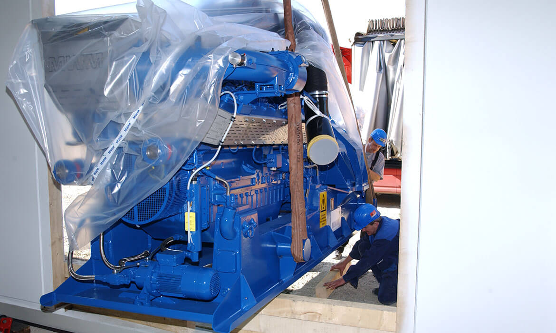 IGP Generatoren - Produktion Montage