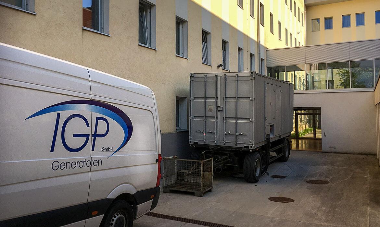 IGP Generatoren - Vermietung