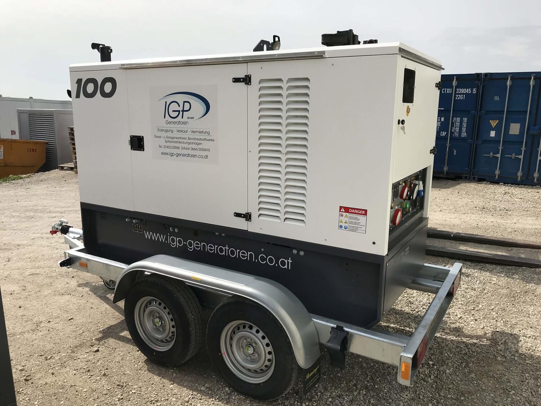 100kVA Mobil Wasserwerk Kärnten