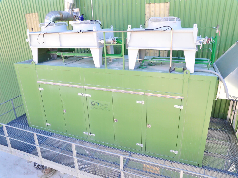 520kW Blockheizkraftwerk OÖ
