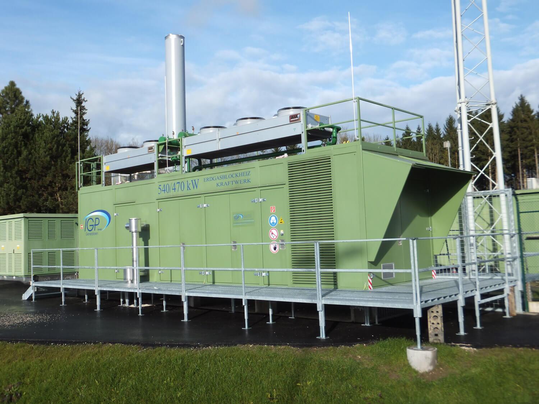 540kW Blockheizkraftwerk OÖ